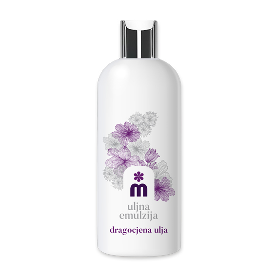 Melem body emulsion with precious oils 200 ml