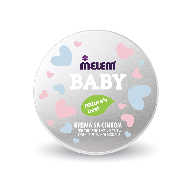 Melem Baby cream with zinc 75 ml