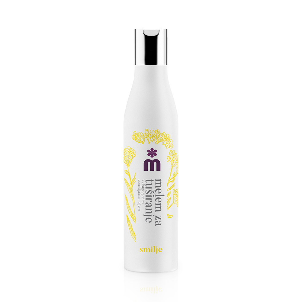Melem precious body wash with immortelle essential oil 250 ml