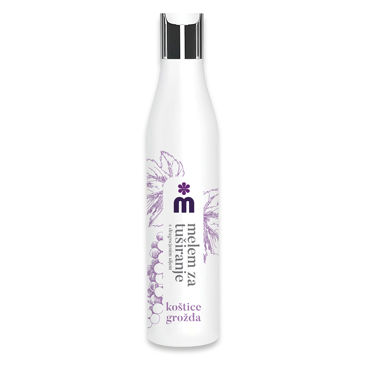 Melem precious body wash with grape seed oil 250 ml